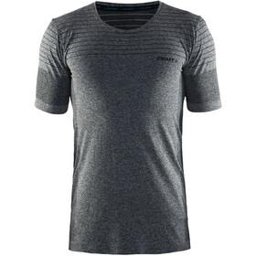 Craft M's Cool Comfort RN SS Shirt Black Mélange